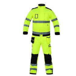 Resistente al agua y la seguridad Workwaer Windproof Wear-Resistant Chaqueta reflectante y el trabajo y uniformes uniformes reflectantes
