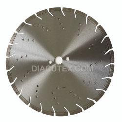 14 Inch soudées au laser de lame de scie de coupe de béton de diamant