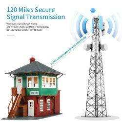Nouveau produit à l'intérieur de l'antenne numérique portable, 120 mille de long avec amplificateur Amplificateur de signal de gamme pour 4K HD UHF VHF