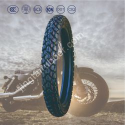 17インチOEM ISO CCCの点E-MARKが付いている新しい6prナイロンベルトバイアスタイヤの天然ゴムの雪の泥パターン低圧のゴム製オートバイの管のタイヤ/Tyre (3.00-17)