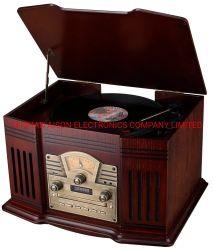 De populaire Radio FM/Am, USB van de Draaischijf van de Grammofoon van de Doos Draagbare