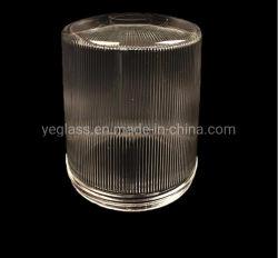 Kundenspezifischer gepresster explosionssicherer Glasabdeckung-Lampen-Farbton