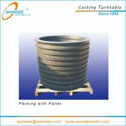 Los 1100 mm 1200 mm Jost BPW Cojinete de bolas tipo de plato giratorio de casting para la plena tráiler