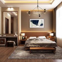 جديدة تصميم فندق حديثة خشبيّة غرفة نوم أثاث لازم جناح مجموعة
