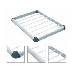 Tecto universal prateado Rack da haste de alumínio aluguer de barras de tejadilho