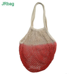 洗濯できる綿ストリング記憶の携帯用食料雑貨の再使用可能なショッピング網袋