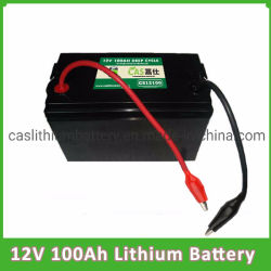 Batteria ricaricabile 12V 100ah della pila secondaria dell'OEM della batteria di litio del ciclo 12V di documento legale LiFePO4 per il triciclo elettrico
