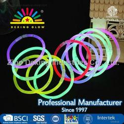 Het in het groot douane het Gloeien de stoklicht van de Armband gloeit omhoog stok met embleem voor het Assortiment van het Stuk speelgoed van de Prijs van de Gunsten van de Partij van de Verjaardag van Jonge geitjes
