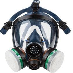 高品質ガスフルフェイスマスク St-S100-3 産業用シリカゲル シリコン / ゴムガスマスクフィルターフルフェースガスマスク