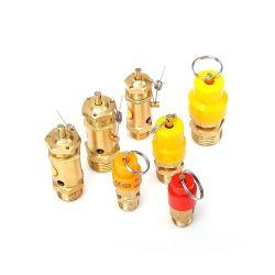 Valvola di sfiato d'ottone di sicurezza di controllo di pressione con la guarnizione della sfera d'acciaio, utilizzata per controllo di pressione del cilindro dell'automobile