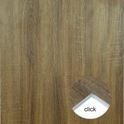 Pavimentazione di legno laminata impermeabile del vinile di scatto del PVC Lvt Spc della plastica