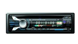 Ein LÄRM Auto-DVD-Spieler mit DVD/USB/FM/SD/Aux innen