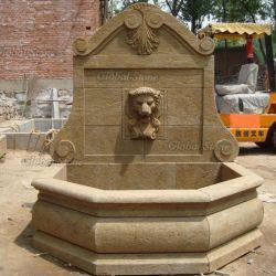 Design personalizado mármore antigo jardim Fonte de parede para decoração (GSWF-127)