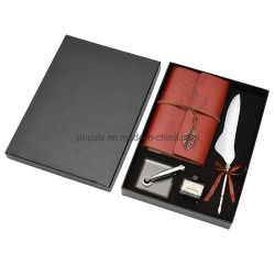 2021 Yihuale Vintage Callsity Feather Signing Pen with Notebook(노트북을 사용한 Yihuale Vintage Callsit