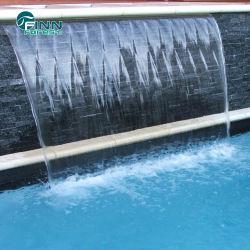 Piscina Jardim decorativa cachoeira cascata de água da fonte de parede