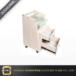 Personalizable Salon SPA de belleza Manicura Trolley con colector de polvo
