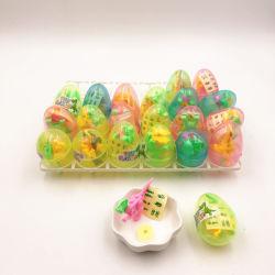 계란 캡슐 장난감 사탕에 있는 재미있은 압박 사탕