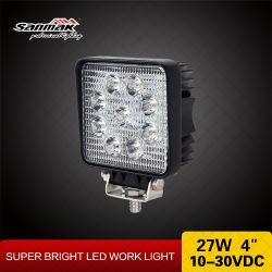 4X4 LED lampe de travail des supports de montage de lampe de travail LED Epistar 27W