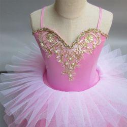 여아용 키즈 베이비 댄스 드레스 캔디 컬러 투투 드레스 댄스 의상 발레 댄시이어