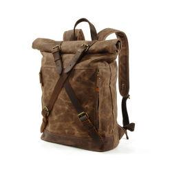 2019 новейший дизайн водонепроницаемый Вакси Canvas рюкзак Vintage Style рюкзак для мужчин