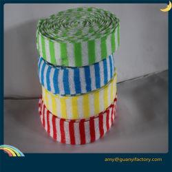 Блюдо скруббер губкой ткань губкой Scourer ткань в рулонах