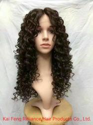 卸し売り巻き毛の総合的な毛のかつら(RLS-404)
