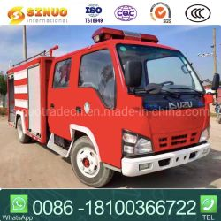 사용된 Isuzu 화재 싸움 장비 4000 리터 거품 탱크 초침 화재 싸움 트럭에 의하여 사용되는 소방차