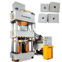 機械4コラム油圧出版物を作るミネラル塩のブロックまたは塩タブレットまたは塩の舐めている500トンの自動全作成ライン牛およびヒツジ浴室の爆弾