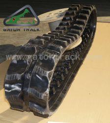 180*72*37 pièces d'excavateur chenille en caoutchouc Mini tombereau de transporteur