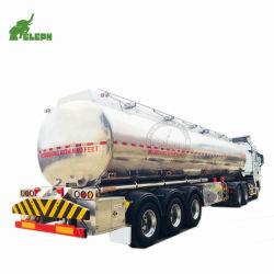 تخزين وقود الديزل شاحنة نقل خزان الألومنيوم نصف المقطورة