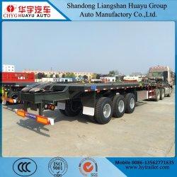 Contenitore di Huayu 20/40FT/programma di utilità/carico Highbed/piattaforma/della base camion rimorchio semi con la quinta rotella