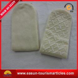 Couvercle/jetables de chaussettes de chaussettes de coton de haute qualité pour la compagnie aérienne