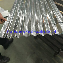 Les matériaux utilisés de toit en tôle galvanisé jauge Prix 26