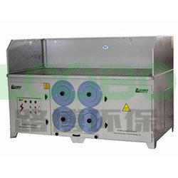 protection environnementale de la poussière meulage d'aspiration de la table / tableau courant descendant