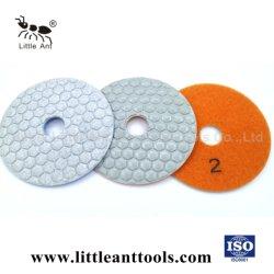 Flexible de diamante de buena calidad de pulido en seco Pad para piedra de cuarzo