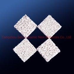 Пористая глинозема керамические диски губчатый фильтр для литейного производства металла