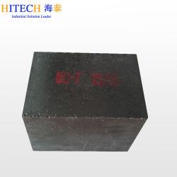 97% de MGO Carbono Magnésia MGO C MGO-C tijolos refractários para panelas de aço