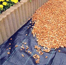 Heavy Duty de la membrana de Malezas tejida tejido para el mercado del Reino Unido