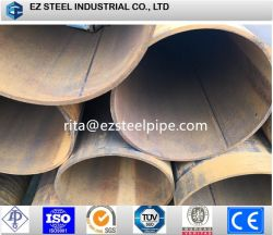 Tubo de acero Erwwelded/tubo, tubo de acero galvanizado Stocks 10'' 20''.