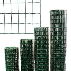 La polvere del PVC ha ricoperto/recinzione saldata galvanizzata di sicurezza della rete metallica del ferro