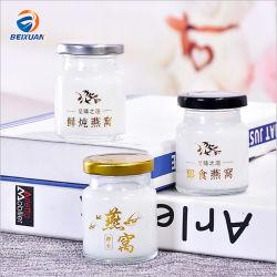 25ml comerciano la bottiglia all'ingrosso di vetro del miele della spremuta della bevanda del nido del mini uccello di formato di Customzied di vendita calda con la protezione della latta