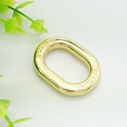 方法ハードウェアのローズの金の金属の楕円形のリング