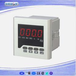 Único / de montaje en panel de tres fases frecuencímetro digital