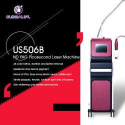 Q Commutateur Tattoo Nd-YAG de rajeunissement de la peau de la machine Dispositif de dépose
