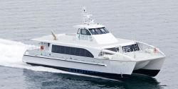 het Aluminium van 24m/de Passagier van de Catamaran van de Hoge snelheid van het Aluminium/de Boot van de Veerboot voor Verkoop
