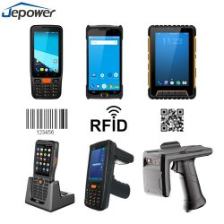 4G WiFi bluetooth 사진기 GPS를 가진 인조 인간 산업 1d 제 2 Barcode 스캐너 NFC RFID PDA
