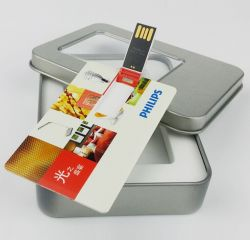 De promotie OEM Plastic Aandrijving van de Flits van de Creditcard USB van de Stok van het Adreskaartje USB Voor het Embleem van de Douane