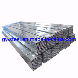 2X4 carrées et rectangulaires galvanisé acier tubulaire