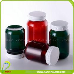 Medical Packaging 200ml Pet bouteille en plastique de la médecine avec Flip Top Cap