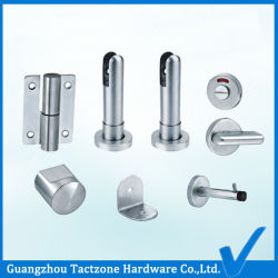 Usine directement les partitions de toilette durable Salle de bains Accessoires en acier inoxydable 304